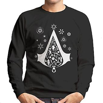 Sweatshirt arbre de Noël Assassins Creed homme