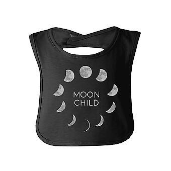 القمر الطفل الأسود هالوين لطيف طفل مريلة القطن الجديد الآباء الهدايا