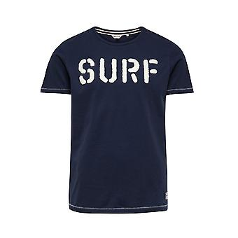 Jack and Jones Marineblau Kostalen Tee T-Shirt