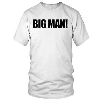 Big Man Fitness Gym Training Bodybuilding Ladies T Shirt
