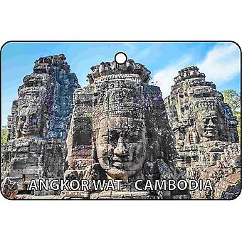 Angkor Wat - Kambodża samochodowa zawieszka zapachowa