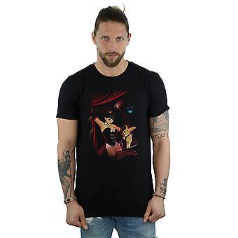 قنبلة Zatanna غطاء تي شيرت دي سي كوميكس الرجال