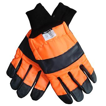 CHAINSAW SAFETY GLOVES CLASS 1 SIZE XL