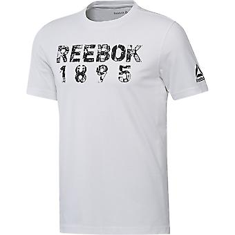 Reebok Tape Tee BK5236 universal all year men t-shirt