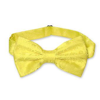 Vesuvio Napoli BOWTIE Paisley Men's Bow Tie for Tuxedo or Suit