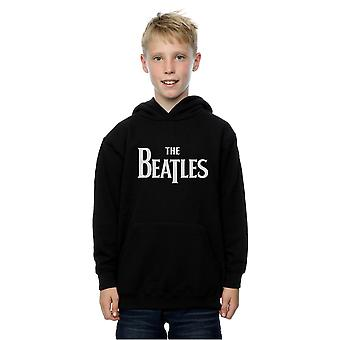 The Beatles Boys Drop T Logo Hoodie