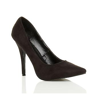 Ajvani Mens Womens Dragqueen Crossdresser burlesque high-Heel wies Gericht Schuhe Fetisch Pumpen große s