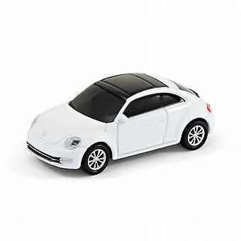 VW Beetle 'New Shape' Car Computer USB Memory Stick 8Gb - White