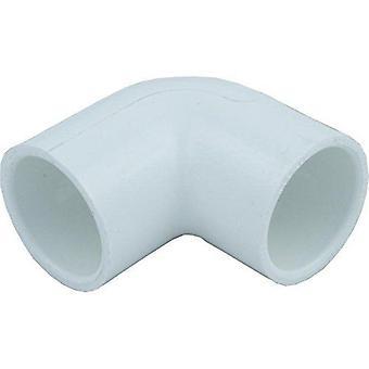 """Lasco 406-010 PVC Elbow 1"""" 90-Degree"""