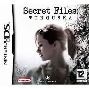 Hemliga filer Tunguska (Nintendo DS)-ny