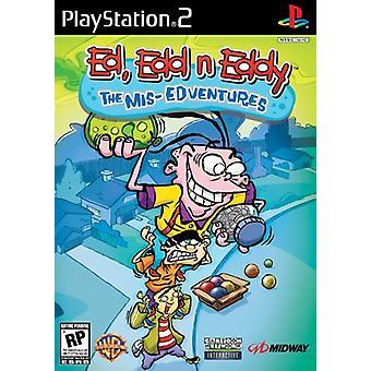 Ed EDD n Eddy (PS2)-fabriks forseglet