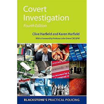 Covert Investigation by Clive Harfield