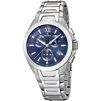 Festina mens watch sports chronograph F16678-8