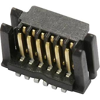 ERNI 284257 Edge connector (pins) Total number of pins 14 No. of rows 1 1 pc(s)
