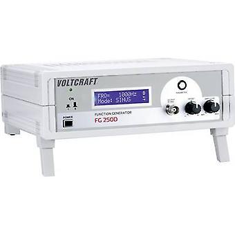 Normes de fabricants VOLTCRAFT FG 250D 250kHz alimenté par secteur (max) 1 canal (pas de certificat)