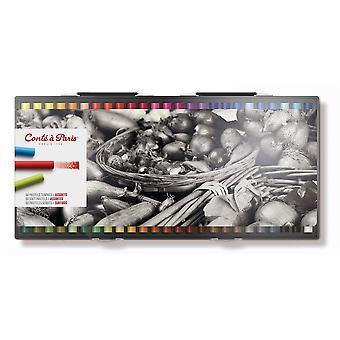 كونتي باريس فنانين الباستيل ناعمة 50 متنوع الألوان