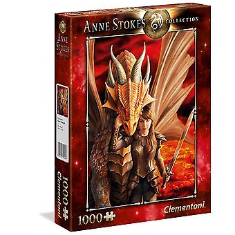 Clementoni Anne Stokes Collection - Inner Strenght - 1000 Pieces
