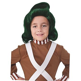 Oompa Loompa Willy Wonka And The Chocolate Factory Book Week Boys Costume Wig