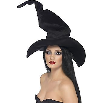 السحرة طويل القامة وملتوى القبعة سميفي، أسود