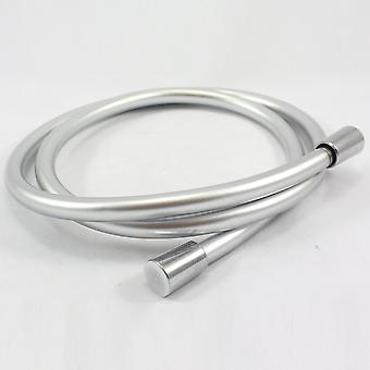 Di Dampf 1,5 m glatt Silber/Grau PVC Flexible Brauseschlauch - Universal passend starkes Material