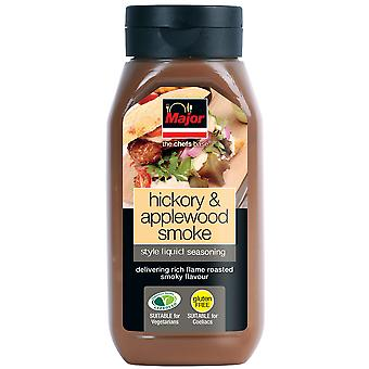 Major Hickory & Applewood Smoke Liquid Seasoning