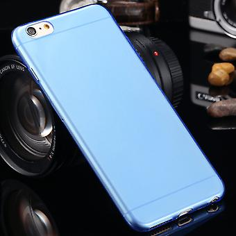 Blue frost iPhone 6/6s – 0,4mm - YOU GET TWO