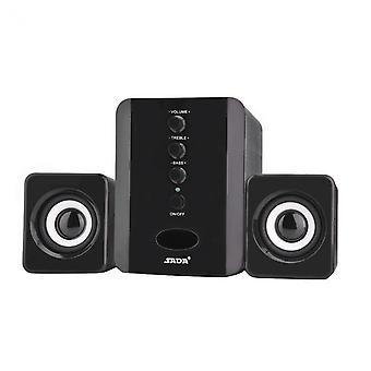 SADA D-202 Stereo speaker with Subwoofer, black