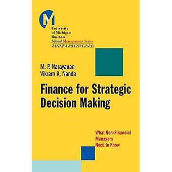 Finanzen für strategische Entscheidungen - was Ne Non-financial Manager