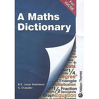 Un dictionnaire mathématique pour IGCSE