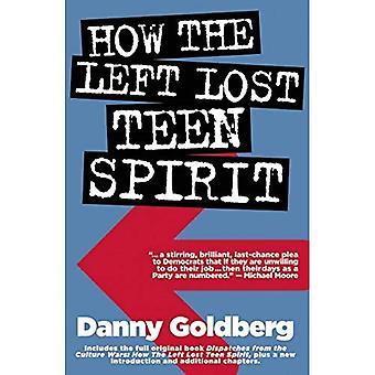 Miten vasemmisto menettänyt Teen Spirit: (ja miten he saavat sen takaisin!)