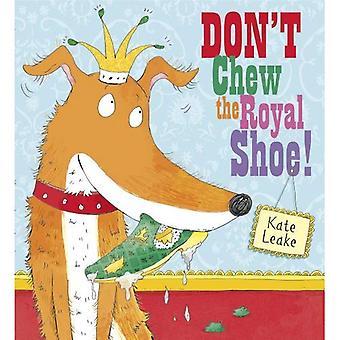 Inte tugga Royal skon
