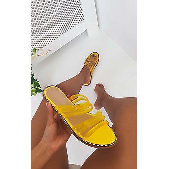 IKRUSH Womens Jenni Strappy Jelly Sandals