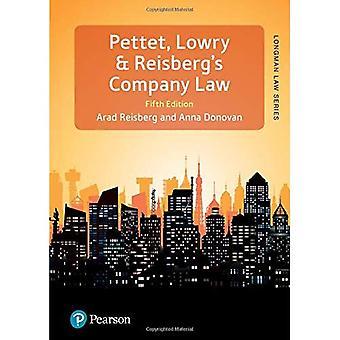 Pettet, Lowry & Reisbergs selskapet lov (Longman Law serien)