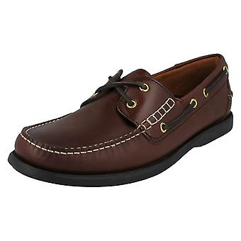 Mens Barker Formal Boat Shoes Wallis