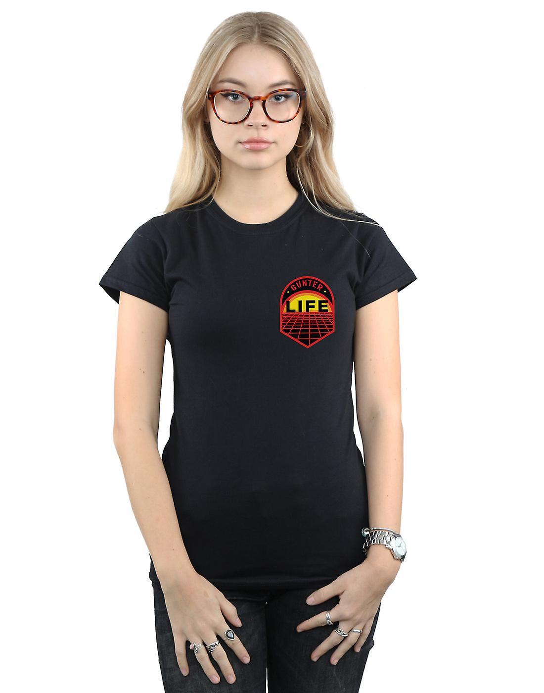 Ready Player One Women's Gunter Life Breast Logo T-Shirt