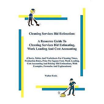 Cleaning Services Bid Estimation by Fenix & Walter