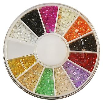 Rhinestone Pearlescent 2mm 12 colors