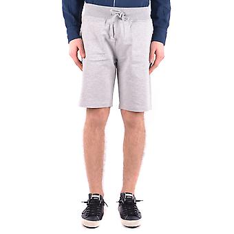 Aeronautica Militare Ezbc047010 Men's Grey Cotton Shorts