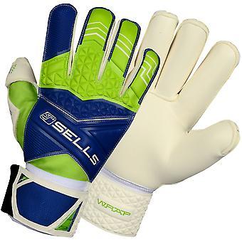 SELLS WRAP PRO TERRAIN Goalkeeper Gloves Size