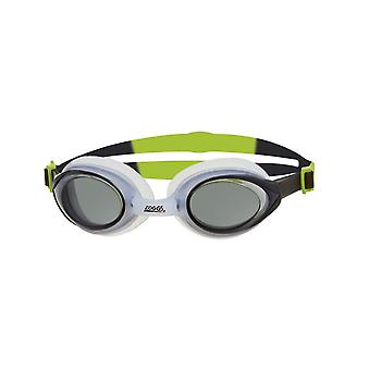 Zoggs Bondi Adult Swimming Goggles-Black/Lime