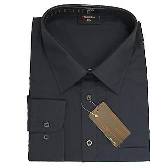 Espionage Long Sleeve Plain Shirt