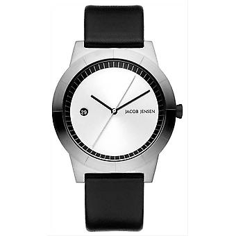 Jacob Jensen Ascent Series Watch - Black/Silver