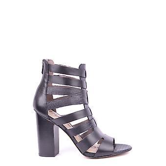 Sam Edelman Ezbc196005 Women's Black Leather Sandals
