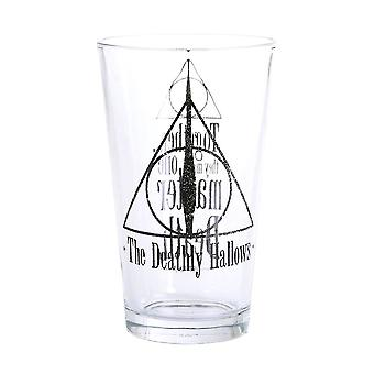 Harry Potter The Deathly Hallows Large Glass