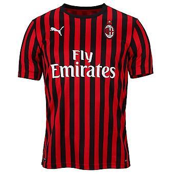 2019-2020 AC Milan Puma Etusivu jalka pallo paita