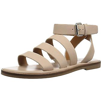 Franco Sarto Womens Kyson Leather Open Toe Casual Strappy Sandals