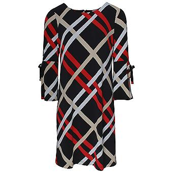 Frank Lyman Long Sleeve Check Dress