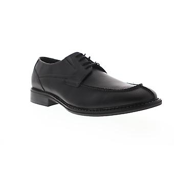 Unlisted by Kenneth Cole Kinley Lace Up Mens Black Dress Lace Up Oxfords Shoes