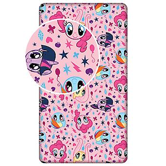 My Little Pony Pink Single Fitted Sheet