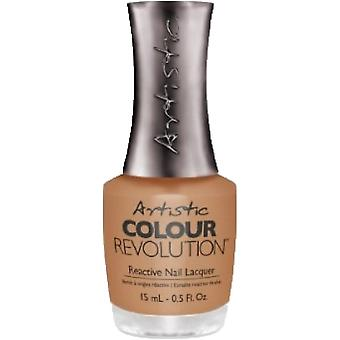 Artistic Colour Revolution Tribal Instinct 2016 Collection Reactive Nail Lacquer - Running In The Buffalo 15ml